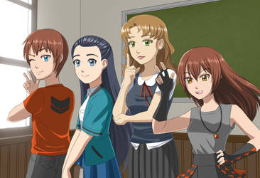 Classroom Crew by jcling