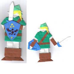 Origami Link by foldingtheuniverse
