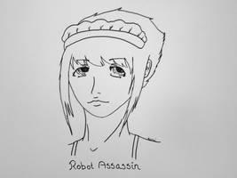 Robot Assassin by KuraiKuroya