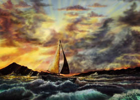 Sail into the Sunset by EpicLoop