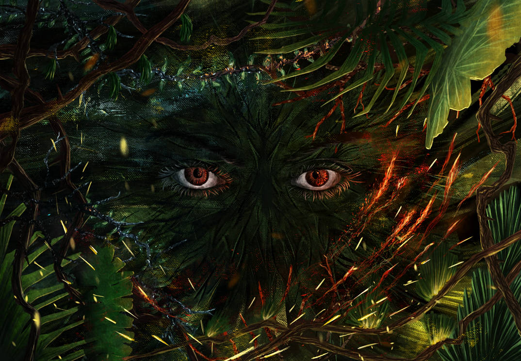 Eyes in the jungle by EpicLoop
