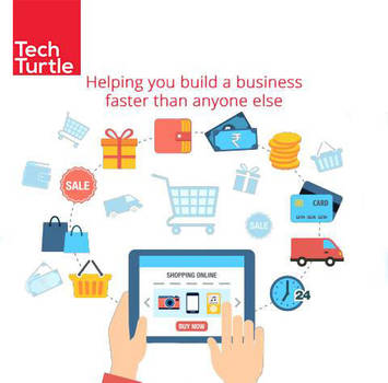 Create and Manage Ecommerce Website by techturtl