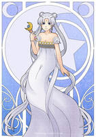 Princess Serenity by Lindajing