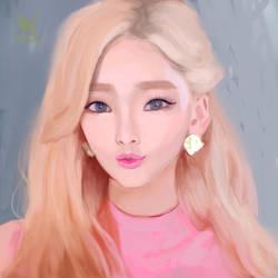Taeyeon by wkryanchanart