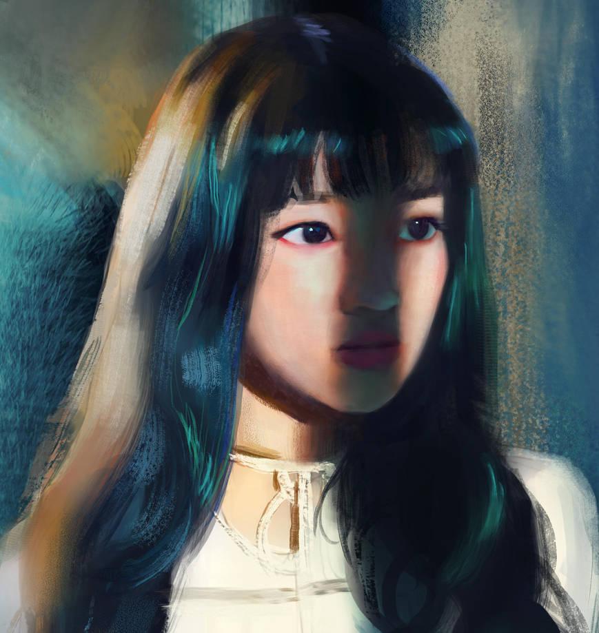 Yuqi by wkryanchanart