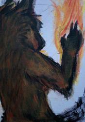Need a light by Wolf-Shaman