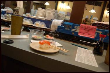 Sushi Express by Wolf-Shaman