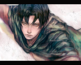 Corporal Rivaille by teralilac