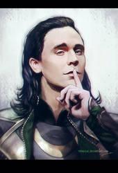 Loki Laufeyson by teralilac