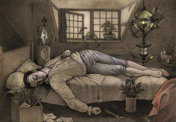 Neither death, nor Chatterton-redux by CopperAge