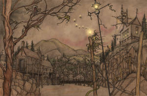 Hopeless, Maine-Harbour by CopperAge