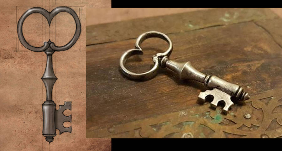 Salamandra's Key by CopperAge