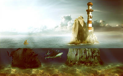 lighthouse by CaptainMorphine