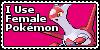 Female Pokemon Stamp by Yenshin