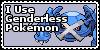 Genderless Pokemon Stamp by Yenshin