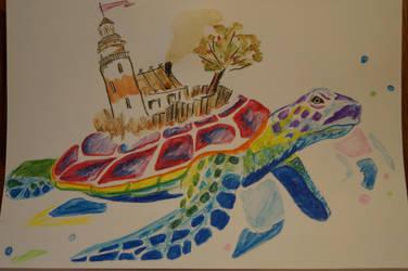 Isle Of Turtle by aksinia