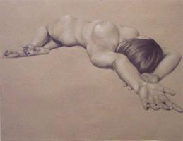 daydreaming nude by sharthenightwisp