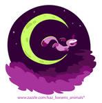 Batik the Cute Cartoon Bat-Eared Fox by KazFoxsen