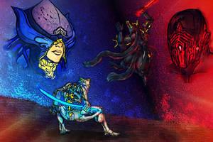 Lotus:Excal Prime-Stalker:Umbra v3 by Vladaking