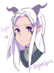 Rayla by pxyI