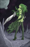 Gamora by BodyTriangle