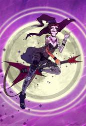 Rock Witch by SeanDonnanArt