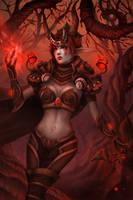 Ysera Dragon Nightmare by Elizanel