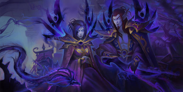 Void Elves by Elizanel