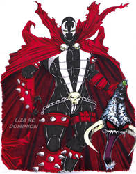SPAWN - IMAGE COMICS by DOMINION-Lii