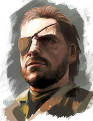 Big Boss (MGS V) by teuf-eL