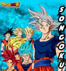 Super Saiyajin Son Goku by jaredsongohan
