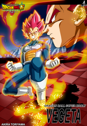 Poster Dragon Ball Super Broly Vegeta SSJ Dios L by jaredsongohan