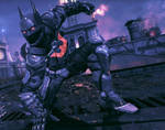 Freedom League: disorder fighters - Batman Beyond by antivenom907