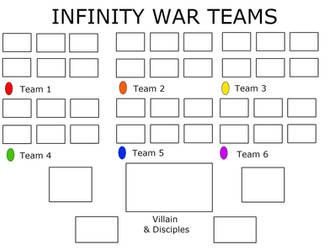 Infinity War Template by antivenom907