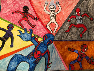 Further into the Spider-Verse by antivenom907