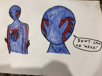 Further Into the Spider-verse - Spider-man 2099 by antivenom907