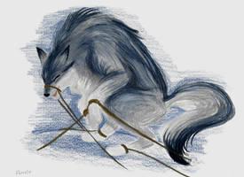 Fenrir by Kitsune-Prophet