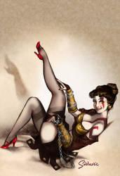 Lady Kratos by Sabtastic