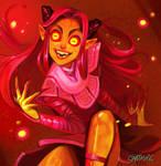 Ava's Demon - Fan Art by Sabtastic