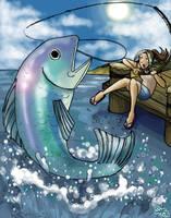 Fishin' by Sabtastic