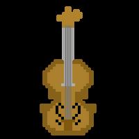 Pixel Violin by CaptainToog