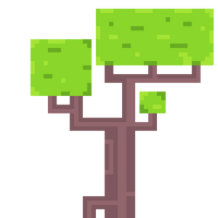 Pixel Tree by CaptainToog