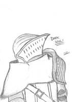 Dark Souls Sketch by CaptainToog