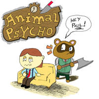 Animal Psycho! - American Psycho Parody by CaptainToog