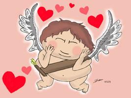 Cupid Cartman - Happy Valentines by CaptainToog