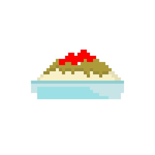 Pixel Vanilla Sundae by CaptainToog