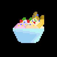 Pixel Sundae 2 by CaptainToog
