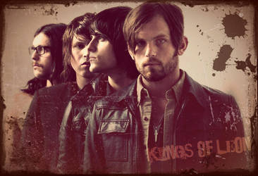 Kings of Leon Wallpaper by spell-bound170