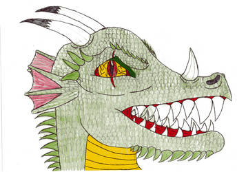 Evil Dragon by drunkteddyrampage