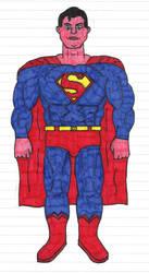 Superman - The Man of Steel by drunkteddyrampage